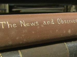 A project at the University of North Carolina at Chapel Hill is  scanning thousands of newspapers, digitizing North Carolina's stories since the 1800s.