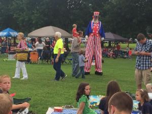 Garner gets a jump start on Fourth of July celebrations