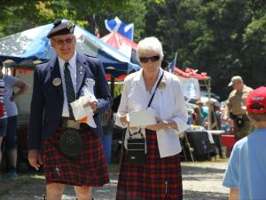 Thousands of people of Scottish descent gathered on Grandfather Mountain Friday to kick off the 60th Annual Grandfather Mountain Highland Games.