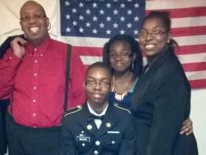 Billy Jo McLean, Callandra McLean and family. (Source: Facebook)