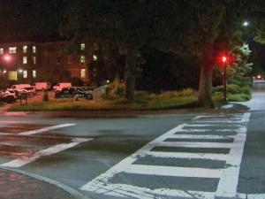 Two people were robbed at gunpoint late Wednesday near a dorm at the University of North Carolina at Chapel Hill, according to police.