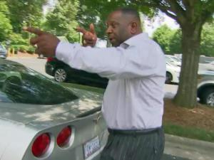 Raleigh resident John Hunt describes how he was stopped and searched on U.S. Highway 1 in Vance County.
