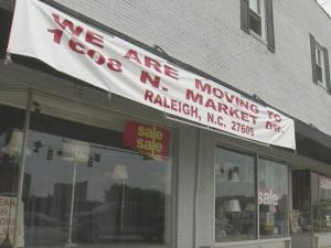 Rising rent in downtown Raleigh