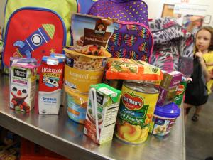 Mix 101.5 FM's Backpack Buddies food drive, which benefits the Inter-Faith Food Shuttle, kicks off Aug. 15, 2015. Jill Staton Bullard talks about the 2015 event. Go to www.foodshuttle.org to donate.