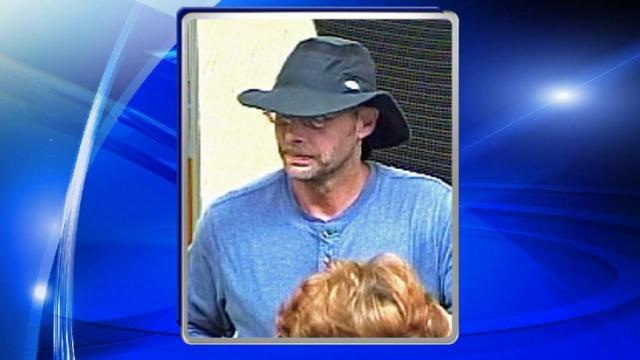 Police are searching for a man who robbed a Raleigh bank Saturday afternoon.