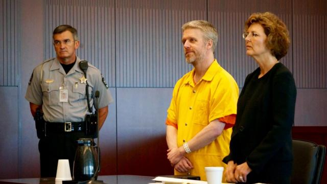 Brian Hotchkiss in court Monday, Aug. 24, 2015.