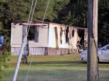 Investigators from the Vance County Sheriff's Office and State Bureau of Investigation were called to a home near Henderson early Tuesday after fire ripped through a home.