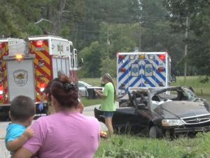 Five Johnston county teenagers are recovering following a single-car crash on Thanksgiving Fire Department Road Thursday afternoon.