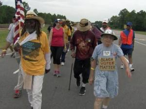 NAACP 'Journey for Justice' marches through North Carolina
