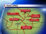 Raleigh crime spree