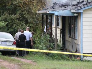 House fire in southern Wake County on Sept. 7, 2015