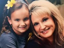 During sentencing, family members showed this photo of Melissa Huggins-Jones and her daughter. Huggins-Jones was found beaten and stabbed to death in her North Hills apartment on May 14, 2015. Ronald Anthony, one of three suspects charged, pleaded guilty and was setenced to life in prison on Sept. 8, 2015..
