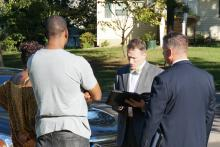 Family and friends talked to investigators after a man died in Raleigh police custody Monday morning.