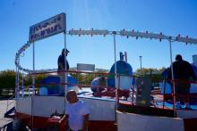 The Cumberland County Fair at the Agri-Expo Center has been open since Friday, but not all of its carnival rides are up and running.