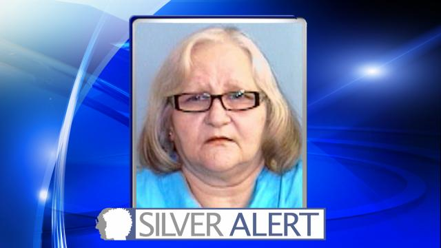 Roanoke Rapids police were searching Saturday for a 64-year-old woman who is believed to be cognitively impaired.