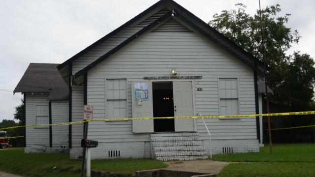 No injuries were reported early Wednesday when fire damaged part of a church on Sapona Road in east Fayetteville, officials said.