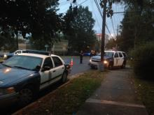 Raleigh police have blocked off Blount Street between Bledsoe Avenue and Lee Street.