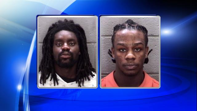 Sylvester Ray Andrews Jr., left, and Trayvon Markell Moody-Powell