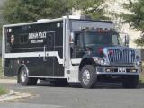 Durham police mobile command truck