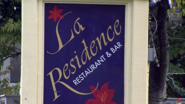 La Residence bar in Chapel Hill