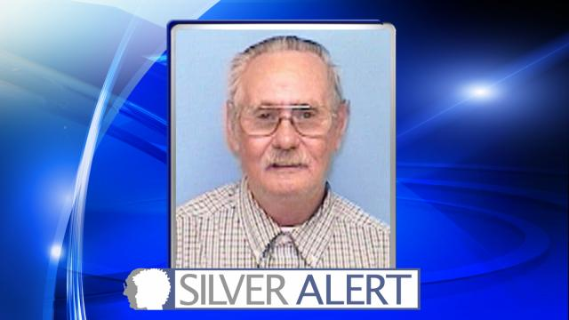 The North Carolina Center for Missing Persons issued a Silver Alert for Earnest Lee Yow at about 1:45 a.m. Saturday after he went missing from the 2300 block of North Horace Walters Road in Raeford.