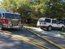 Man, woman injured in Zebulon house fire