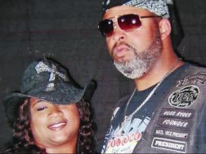 Kelly Wilkerson, who was shot and killed in Wilson on Oct. 17, 2015, with his wife, Adia, in an undated family photo.