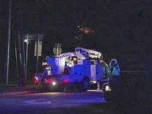 A 20-year-old man was charged with driving while impaired early Thursday after police say he crashed his car into a power pole on Brentwood Road in Raleigh.