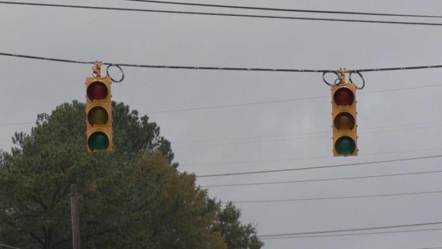 Several homes and businesses in the south part of Selma were without power Wednesday afternoon after a transformer off Ricks Road caught fire.