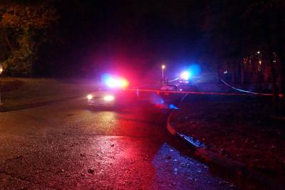 Authorities said that two men were shot near the intersection of Fayetteville Road and Cornwallis Road near a Tobacco Mini-Mart.