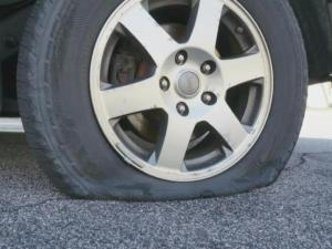 Tires slashed in Raleigh