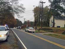 Lakeview School in Durham was locked down Monday afternoon while police officers investigated a drive-by shooting on Dearborn Drive.