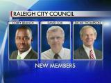 New Raleigh city leaders sworn in