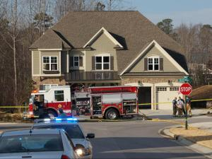 Two people died early Friday in a house fire on Roles Saddle Drive in Rolesville, according to Mayor Frank Eagles.