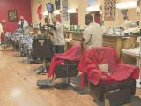Barber shop partners with biker club to collect holiday gifts for children