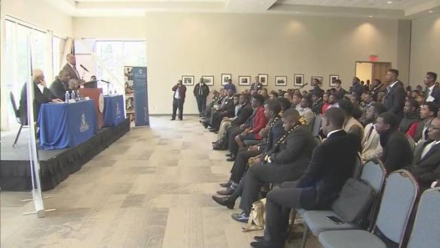 Anthony Foxx visits Fayetteville State University