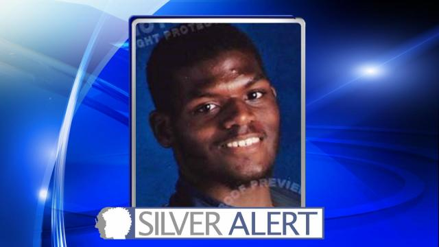 Devon Jamar McLean was last seen at 102 Dickerson Court and is believed to be suffering from a cognitive impairment.