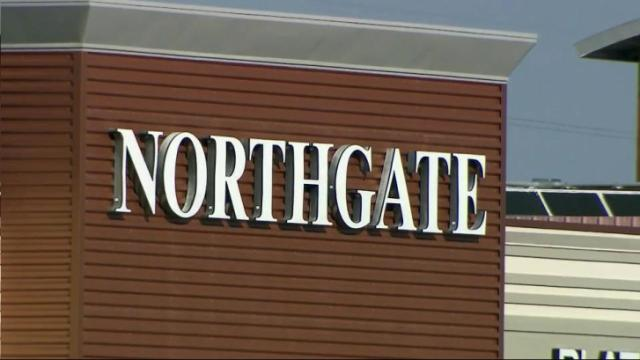 Northgate Mall sign