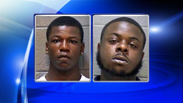 Howard Freeman Earl, Jr., 21, of Guess Road and Terrell Lee McLamb, 20, of E. Cornwallis Road were both charged with first-degree burglary, armed robbery, and second-degree kidnapping.