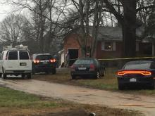 Authorities were on the scene of a hazmat situation Thursday afternoon at an Apex home near Olive Chapel Road and Richardson Road.