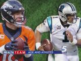 Cam Newton and Peyton Manning