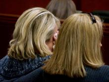 Jurors, audience members get emotional as physical evidence is displayed