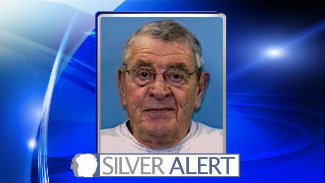 Authorities are searching for Roy Stephenson Jr., 75, who was last seen at Duke Raleigh Hospital.