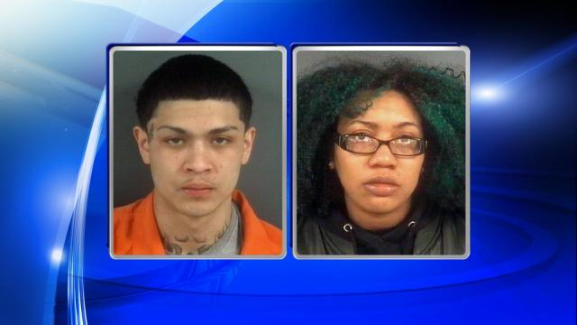 Two people were arrested after police said they robbed a Fayetteville convenience store during the early hours of Monday morning.