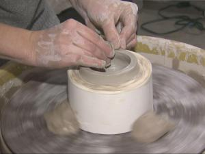 Artists from around the country travel to the Town of Star, where local clay is sold to potters and ceramic artists to make creations.