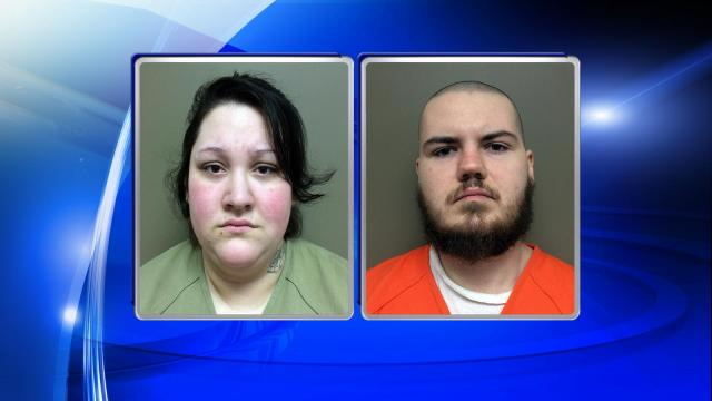 Coty James Potter, 23, and Heather Nichol Brinkley, 22, both of Smiths Creekside Drive, in the Deep Run community, were charged with murder and are being held without bond, according to the Kinston Department of Public Safety.