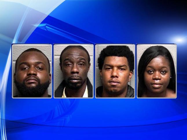 Four arrested in Durham drug bust, officer assault - Wake