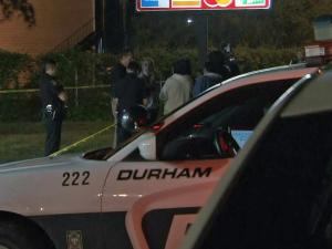 Police on Wednesday night were investigating a homicide after an armed robbery at a Durham convenience store.