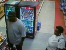 Detectives are asking for help identifying a man and woman who are suspects in a shooting in Fayetteville.