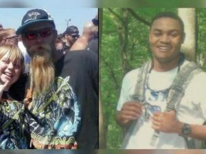 Family members of two men killed in separate Harnett County incidents met Sunday morning in a protest calling for action and accountability in the justice system.